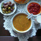 Soupe au levain harira - Le blog de lylyratatouille