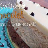 Bavarois chocolat et caramel au beurre salé - My homemade cook