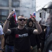 Slovakia: 14,000 strong protest against Islamic fascism cause arrests