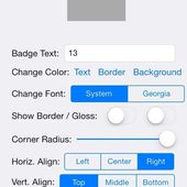 M13BadgeView for iOS - Cocoa Controls