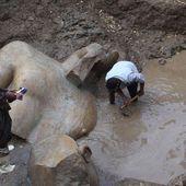 Une statue pharaonique monumentale découverte dans une banlieue du Caire | Afrique: Histoire , Art et Culture