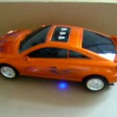 VIDEO MINIATURE TOYOTA CELICA SOUND & LIGHTS 1/18 HAPPY WELL - car-collector