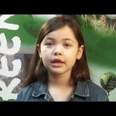 10-year old Ta'Kaiya says 'Protect our coast from oil spills'