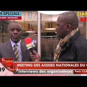 ASSISES NATIONALES/VIDEO ZIANA TV : L'IDEE DE LA TRANSITION DEMOCRATIQUE FAIT SON CHEMIN ET S'EVOQUE DE PLUS EN PLUS...