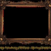Elaborate Wood Scroll Frame by EKDuncan