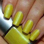 Shrek-licious Franken Nail Polish - Yellow/green color with green hues - Limited Edition