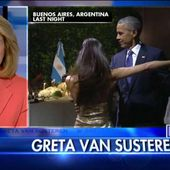 'Who Is Advising Him?': Greta Blasts Obama's 'Tone Deaf' Tango