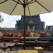 Perchoir BHV Marais - Rooftop du Marais | Jeannine à Paris