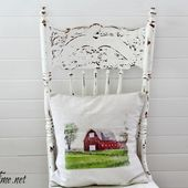 DIY Watercolor Pillow or Wall Art with Transfer Artist Paper - Knick of Time