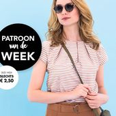 Patroon van de week: Top - Knipmode