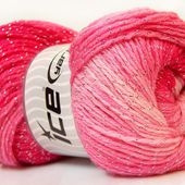 Magic Glitz Argent Abat-jour rose