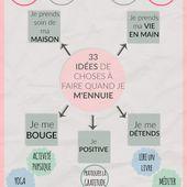 Que faire quand on s'ennuie ? 33 idées intelligentes! - Les défis des filles zen