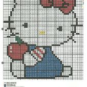 Grille gratuite Hello Kitty