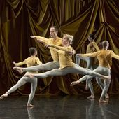 """ Ballet de Lorraine "", chorégraphies de Merce Cunningham, William Forsythe, Alban Richard, Les Quinconces, Le Mans"