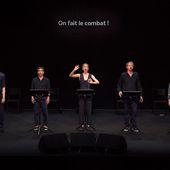 """"""" Suite no 2 """" ("""" Encyclopédie de la parole """"), de Joris Lacoste, Théâtre de Gennevilliers"""