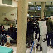 "Clinique occupée, ""négos??"" 8 12 2016 (31e jour de grève)"