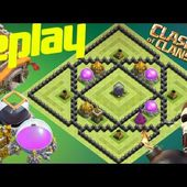 Th8 Farming Base 2017 With Replay Loot Anti Dark Elixir Anti Everything Trophy Giant