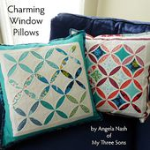 Charming Window Pillows