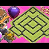 Best Th8 Farming Base 2017 Anti Dark With Replays Anti Loot Anti Giant Anti Everything