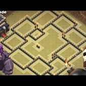 Th9 War Base 2017 Anti 3 Star With Replays-Anti Everything Anti Valkyrie Hog Gowipe