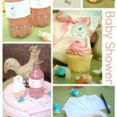 Baby Shower Printables by Chickabug | Ucreate Parties