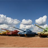 Le Tank Biathlon, épreuve phare des International Army Games d'août en Russie