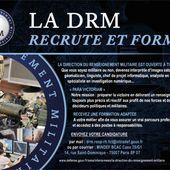 La Direction du Renseignement Militaire recrute