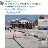 Indiscrétion photographique: VAB et PVP en vue du champ de bataille de Mossoul