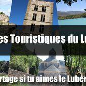 Tous les sites touristiques du Luberon