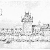 Sous Charles V le château de Mante et les remparts restaurés l'an 1382
