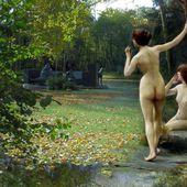 FIN DE SIECLE, les Donneuses d'eau