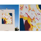 Un tableau de Guillaume Bottazzi de 7 m x 7 m - Journées du Patrimoine 2017
