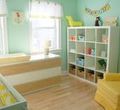 Twins baby room