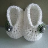 Basic Baby Booties: free pattern | Free Crochet Baby Booties Patterns. | Pinterest