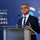 London's Muslim Mayor Khan Opens U.S. Tour With 'Bridges, Not Walls' Jibe At Trump