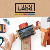 Home - Nintendo Labo Official Site - Trailer, product information