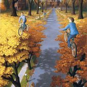 Top 15 des peintures qui perturbent la perception par Rob Gonsalves