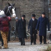 Murdoch Mysteries fims in downtown Peterborough