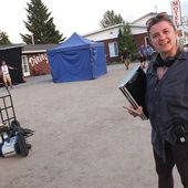 Filming takes over Trout Creek business