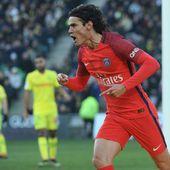 Paris gagne à Nantes grâce à un doublé d'Edinson Cavani