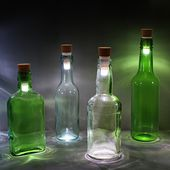 Bottle Light on Industrial Design Served