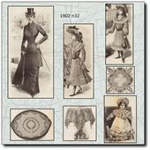 1902 Archives - La mode au fil du temps