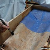 Roman coffin opened for first time