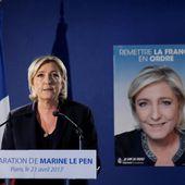 Sur l'attentat des Champs-Elysées, Marine Le Pen ne s'épargne aucune contradiction