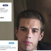"""Les cadres du FN dénoncent """"l'agression sauvage"""" du député Ludovic Pajot """"par des antifa"""""""