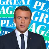 "Avec son ""Make our planet great again"", Macron a bien trollé Trump"