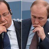 Violente altercation entre Poutine et Hollande ? « Si la France, la Grande-Bretagne et les Etats-Unis veulent la guerre, ils l'auront »