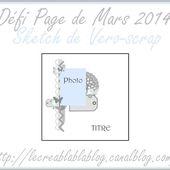 Défi Page de Mars 2014