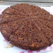 Gâteau au cacao et à la banane à la crème fraîche - Fish Custard