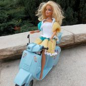 Barbie scooter!!!! - ** le Blog de Mamyrose en couleur **